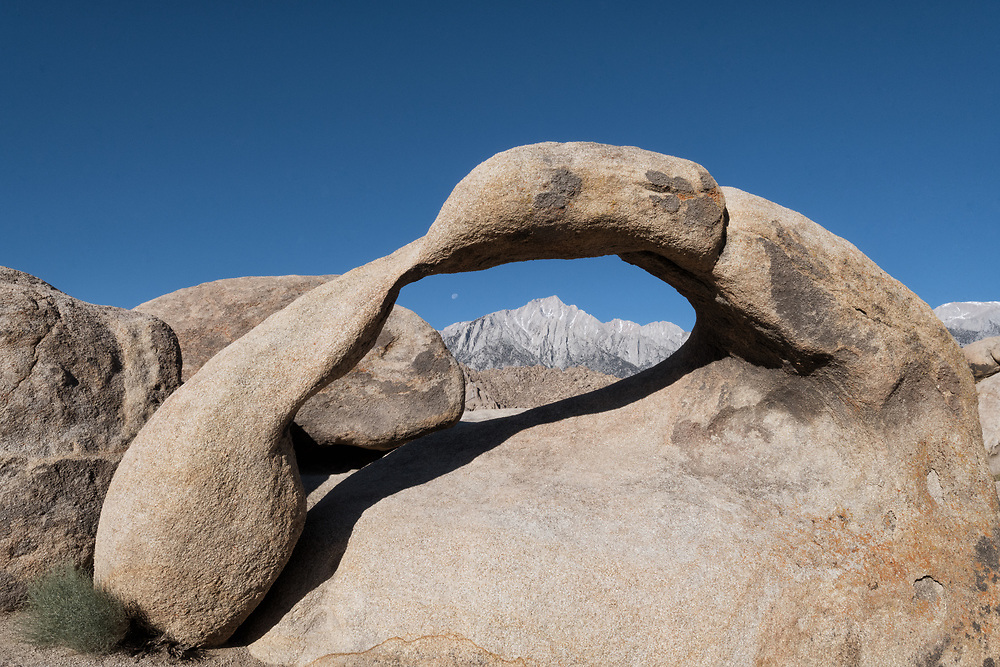 Mobias Arch in the Alabama Hills