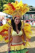 Brazilian Samba dancer.