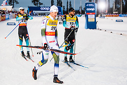 November 24, 2018 - Ruka, FINLAND - 181124 Teodor Peterson of Sweden looks dejected after competing in a men's sprint classic technique quarterfinal during the FIS Cross-Country World Cup premiere on November 24, 2018 in Ruka  (Credit Image: © Carl Sandin/Bildbyran via ZUMA Press)