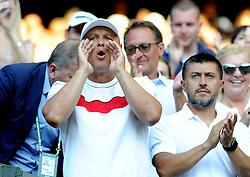 July 7, 2018 - Angleterre - Wimbledon - Vajda coach de Novak Djokovic Serbie (Credit Image: © Panoramic via ZUMA Press)