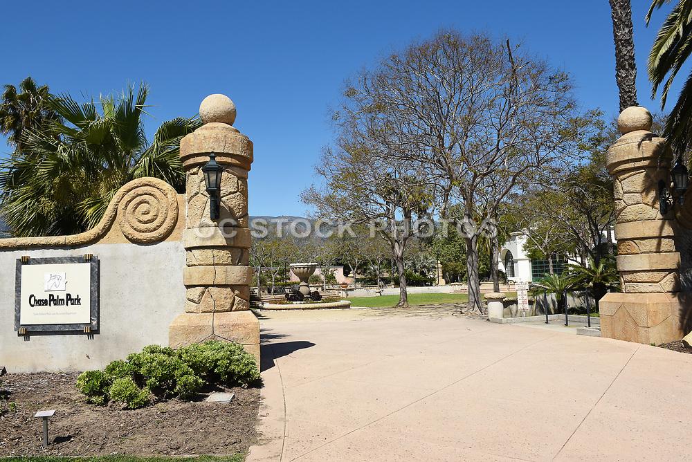 Chase Palm Park Entrance A Public Park Along the Waterfront
