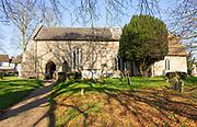 Village parish church All Saints, Eyke, Suffolk, England, UK