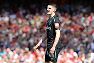 West Ham United midfielder Declan Rice (41) during the Premier League match between Arsenal and West Ham United at the Emirates Stadium, London, England on 22 April 2018. Picture by Bennett Dean.