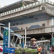 NLD/Bangkok/20180713 - Vakantie Thailand 2018, BTS station