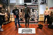 "Muay Thai / K1: Day of Destruction XIV, Wiegen, Hamburg, 11.12.2020<br /> Gerardo ""Coco"" Atti (GER)<br /> © Torsten Helmke"