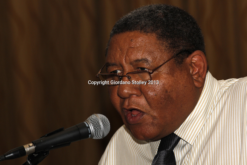DURBAN - 18 August 2013 - Naptosa's KwaZulu-Natal's chief executive Anthony Pierce speaks  at a press conference at the union's 2013 KwaZulu-Natal annual conference. Picture: Allied Picture Press/APP