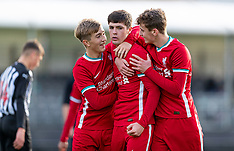 2020-10-31 Liverpool U18 v Newcastle United U18