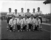 27/08/1952.08/27/1952.27 August 1952.Soccer, City Cup Semi-Final Shamrock Rovers v Dundalk F.C. at Dalymount Park. The Dundalk team.