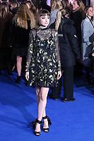 Ellise Chappell, Mary Poppins Returns European Premiere, Royal Albert Hall, Kensington Gore, London, UK, 12 December 2018, Photo by Richard Goldschmidt