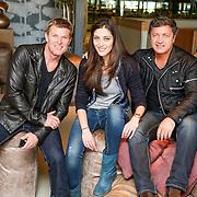 NLD/Amstelveen/20130403 - Photoshoot Winsor Harmon, Thorne Forrester, met Nadia Palesa van Pownews