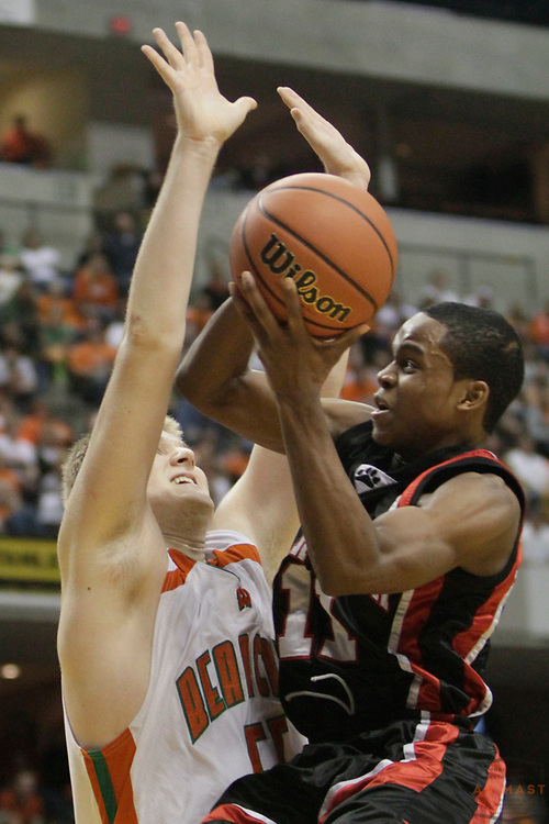 27 March 2010: Park Tudor's Kevin Ferrell as the Park Tudor Panthers played the Wheeler Bearcats in the IHSAA Boys Basketball State Championship game in Indianapolis.