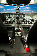 """The panel of a restored Lockheed 12A Electra Junior.  It was used in the movie """"Amelia"""", opening in the fall of 2009."""