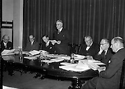 16/12/1959<br /> 12/16/1959<br /> 16 December 1959<br /> <br /> I.J. O'Leary;Dr. C.K. Mill; Mr L.J. Heelan;Dr. J.P. Beddy Chairman (speaking); Mr. M.W O'Reilly; Mr. J. Griffin and Mr. S. Thompson