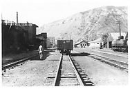 D&RGW Durango north yard from 9th St, looking south.<br /> D&RGW  Durango, CO  Taken by Maxwell, John W. - 1947