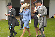 Earl of Halifax, The Countess of Cornwall, Countess of Halifax and Prince Charles. Royal Ascot Race meeting Ascot at York. Tuesday 14 June 2005. ONE TIME USE ONLY - DO NOT ARCHIVE  © Copyright Photograph by Dafydd Jones 66 Stockwell Park Rd. London SW9 0DA Tel 020 7733 0108 www.dafjones.com