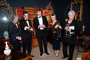 ANGELA BARKER; JONATHAN COULBORN; ALASTAIR CAMPBELL; CHRISTINE CLANCY; LYNDA LOGAN. Bada Antiques Fine art Fair charity Gala. In aid of Leukaemia and Lymphoma Research. 18 March 2010.