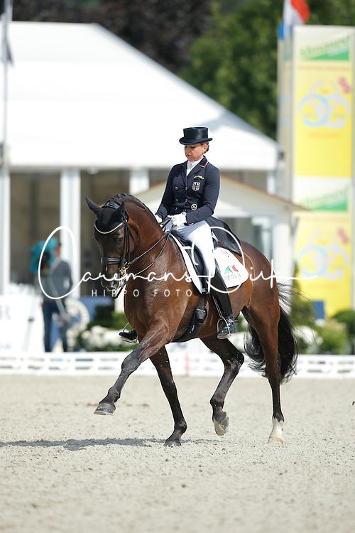 Schneider Dorothee, (GER), Ullrich Equine's St Emilion <br /> Grand Prix CDI4*<br /> CDIO Hagen 2015<br /> © Hippo Foto - Stefan Lafrentz<br /> 10/07/15