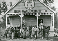 1912 Lubin Mfg. Co. at 1425 Fleming (now Hoover St.) The building was also later occupied by Kalem, Charles Ray, Essanay and other studios