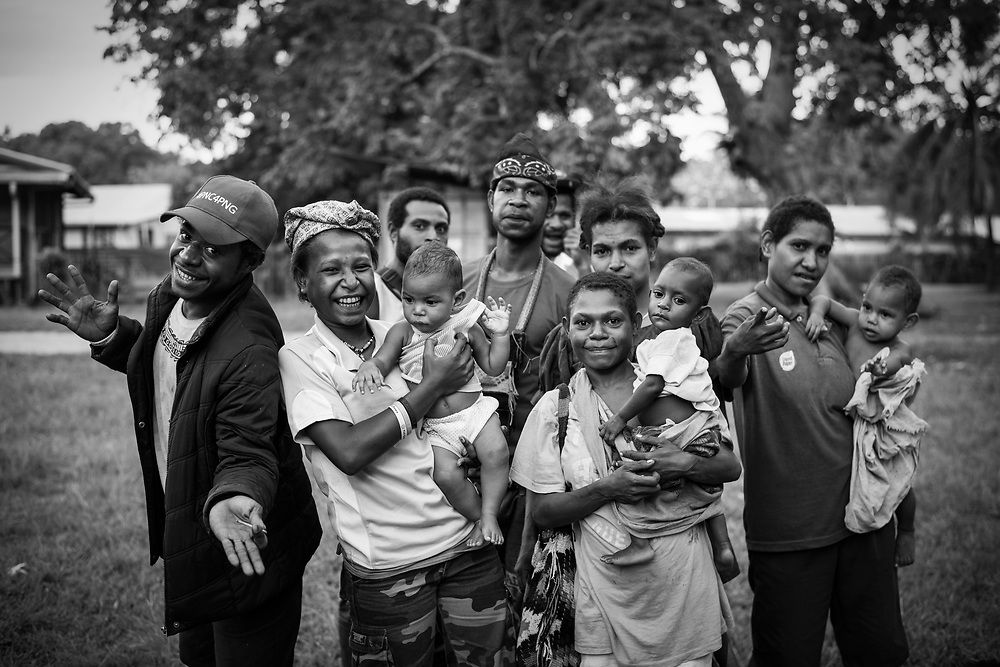 People in Madang, Papua New Guinea (August 5, 2017)