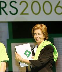 A candidata ao governo do Estado do RS, Yeda Crusius durante evento na FIERGS onde recebeu a Agenda Estratégica RS 2006-2020. FOTO: Jefferson Bernardes/Preview.com