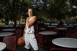 Stanford athletics - Krista Rappahahn, Stanford basketball outside Tressider