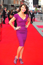 © Licensed to London News Pictures. 15/04/2012. London, England. Lizzie Cundy attends the 2012  Olivier Awards at The Royal Opera House in Covent Garden London on April 15th, England. Photo credit : ALAN ROXBOROUGH/LNP