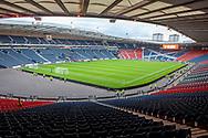 Hampden Park before the International Friendly match between Scotland and Belgium at Hampden Park, Glasgow, United Kingdom on 7 September 2018.