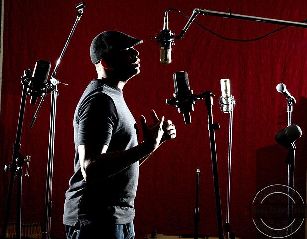 Local rap star Devine Carama. Photo by Mark Cornelison