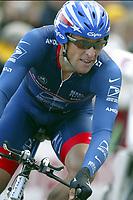 Sykkel<br /> Tour de France 2004<br /> Prolog 03.07.2004<br /> Foto: Photo News/Digitalsport<br /> NORWAY ONLY<br /> <br /> LANCE ARMSTRONG
