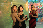 IRINA YASTREBROVA; NATALIA BONDARENKO; OLGA BECIROVIC, Serpentine's Summer party co-hosted with Christopher Kane. 15th Serpentine Pavilion designed by Spanish architects Selgascano. Kensington Gardens. London. 2 July 2015.