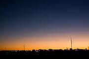 Januaria_MG, Brasil...Por do sol em Januaria, Minas Gerais...The sunset in Januaria, Minas Gerais...Foto: LEO DRUMOND / NITRO