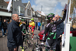 Marianne Vos (NED) of WM3 Pro Cycling Team signs on before the Omloop van Borsele - a 107.1 km road race, starting and finishing in s'-Heerenhoek on April 22, 2017, in Borsele, the Netherlands.