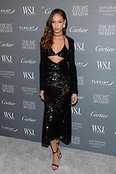 Model Joan Smalls attends the WSJ. Magazine 2017 Innovator Awards at MOMA in New York, NY, on November 1, 2017. (Photo by Anthony Behar/Sipa USA)