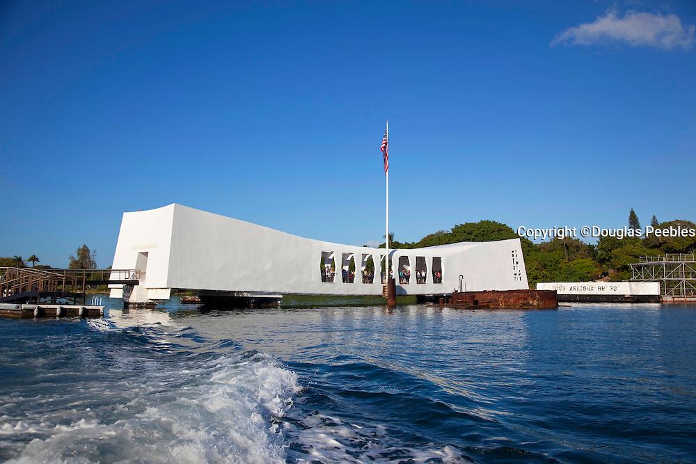 USS Arizona Memorial, Pearl Harbor, Oahu, Hawaii