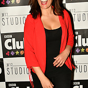 Caroline Morgan attend BBC Club at W12 Studios Lunch party on 14 March 2019, London, UK.
