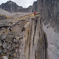 MOUNTAINEERING, Jared Ogden, Cirque of the Unclimbables, NWT, Canada.