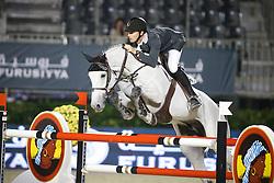 Menezes Eduardo (BRA) - Quintol<br /> Longines Cup<br /> Furusiyya FEI Nations Cup Jumping Final<br /> CSIO Barcelona 2013<br /> © Dirk Caremans