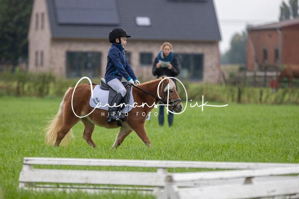 Geudens Joren, BEL, Lotje<br /> Nationaal Kampioenschap LRV <br /> Ponies Dressuur - Oudenaarde 2020<br /> © Hippo Foto - Dirk Caremans<br /> 03/10/2020