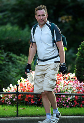 © Licensed to London News Pictures. 13/09/2016. London, UK.  MATTHEW ALLEN, Media Operations Officer at 10 Downing St, arrives at 10 Downing Street in London  on September 13, 2016. Photo credit: Ben Cawthra/LNP