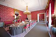 Openstelling Paleis Noordeinde en het Koninklijk Staldepartement<br /> <br /> Op de foto:  Puttikamer