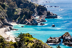 Rugged Big Sur Coast, an amazing one hundred miles.