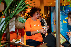 08–01-2020 NED: Olympic qualification tournament women, Apeldoorn<br /> Bulgaria - Netherlands 0-3 / Foodcourt during the match Netherlands - Bulgaria