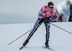 28.01.2018, Seefeld, AUT, FIS Weltcup Langlauf, Seefeld, FIS Weltcup Langlauf, 15 km Sprint, Herren, im Bild Tobias Habenicht (AUT) // Tobias Habenicht of Austria during men's 15 km sprint of the FIS cross country world cup in Seefeld, Austria on 2018/01/28. EXPA Pictures © 2018, PhotoCredit: EXPA/ Stefan Adelsberger