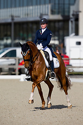 Kuintjes Zoe, NED, Don Clorentino des Paluds<br /> CDI3* Opglabbeek<br /> © Hippo Foto - Sharon Vandeput<br /> 24/04/21