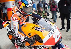 16.05.2015, Circuit, Le Mans, FRA, MotoGP, Grand Prix von Frankreich, Qualifying, im Bild 26 Dani Pedrosa (ESP) // during the Qualifying for MotoGP Monster Energy France Grand Prix at the Circuit in Le Mans, France on 2015/05/16. EXPA Pictures © 2015, PhotoCredit: EXPA/ Eibner-Pressefoto/ Stiefel<br /> <br /> *****ATTENTION - OUT of GER*****