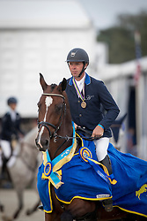 Steeghs Luc, NED, Everest<br /> FEI World Breeding Jumping Championships for Young horses - Lanaken 2016<br /> © Hippo Foto - Leanjo de Koster<br /> 18/09/16
