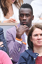 Blaise matuidi attends the 2019 French Tennis Open - Day Three at Roland Garros on May 28, 2019 in Paris, France. Photo by Laurent Zabulon/ABACAPRESS.COM