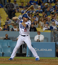 June 21, 2017 - Los Angeles, California, U.S. - Los Angeles Dodgers' Logan Forsythe during a Major League baseball game against the New York Mets at Dodger Stadium on Wednesday, June 21, 2017 in Los Angeles. Los Angeles. (Photo by Keith Birmingham, Pasadena Star-News/SCNG) (Credit Image: © San Gabriel Valley Tribune via ZUMA Wire)