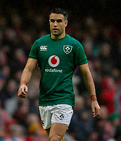 Ireland's Conor Murray<br /> <br /> Photographer Bob Bradford/CameraSport<br /> <br /> Guinness Six Nations Championship - Wales v Ireland - Saturday 16th March 2019 - Principality Stadium - Cardiff<br /> <br /> World Copyright © 2019 CameraSport. All rights reserved. 43 Linden Ave. Countesthorpe. Leicester. England. LE8 5PG - Tel: +44 (0) 116 277 4147 - admin@camerasport.com - www.camerasport.com