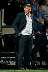 coach John Stegeman of Heracles Almelo during the Dutch Eredivisie match between Heracles Almelo and Feyenoord Rotterdam at Polman stadium on September 09, 2017 in Almelo, The Netherlands